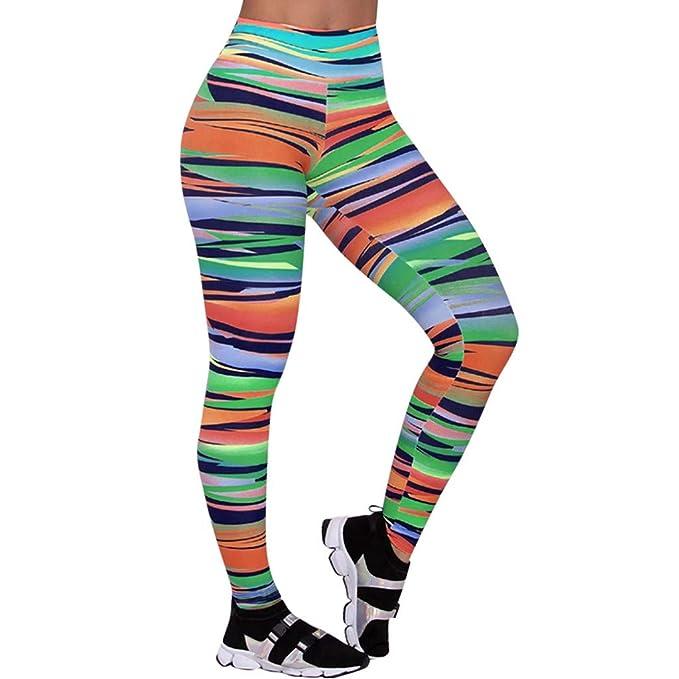 LUNULE Leggins Mujer Fitness Push Up, Casual Leggings Mujer ...