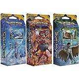 Pokemon All 3 Sun & Moon English Theme Decks: Rowlet, Litten, &...