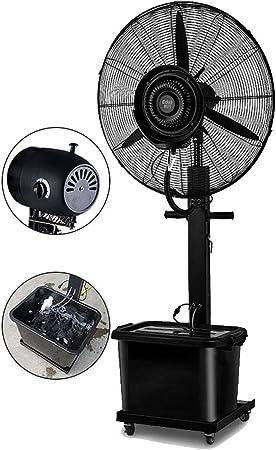 Ventilador de Piso Ventilador oscilante Misting Potente Spray ...