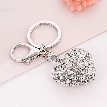 Crystal Rhinestone Key Chain Keyring Keychain Handbag Charm Pendant Bag Purse