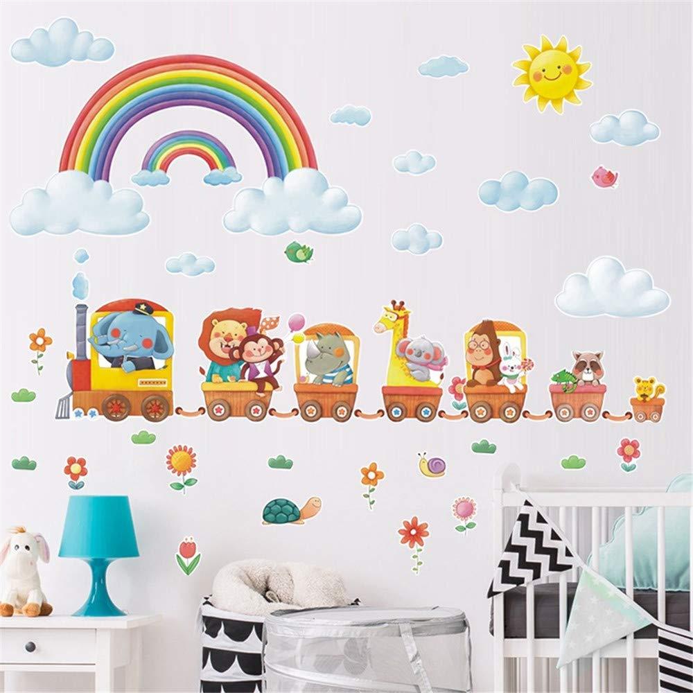 Mario 13x18.5 VAINECHAY Cartoon Mario Wall Stickers DIY Children Mural Decals for Kids Child Rooms Baby Nursery Bedroom Wardrobe Door Decoration