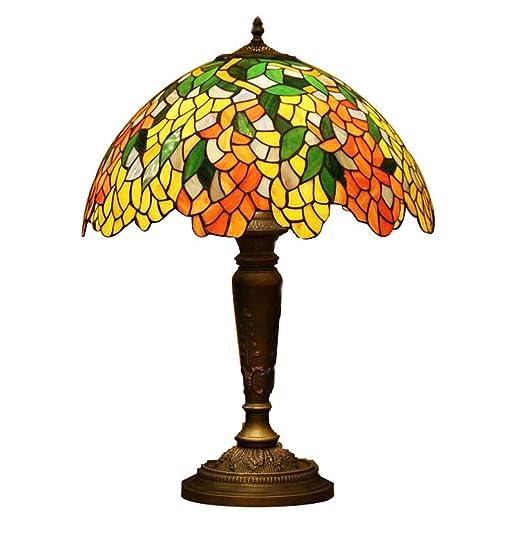 Glight Lámpara de Mesa del Estilo de Tiffany, lámpara de ...