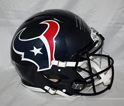 JJ Watt Signed Houston Texans Full Size Revolution Helmet - JSA  Authentication 42db8f03a