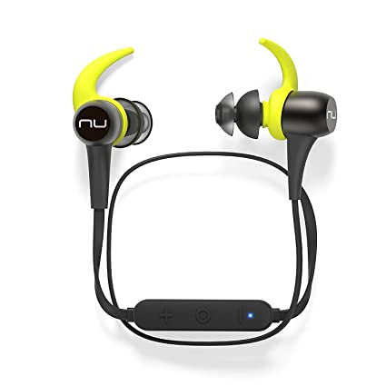 03ac7d3e993 Optoma NuForce BE Sport3 Wireless Bluetooth In-Ear Headphones for Sports,  Gunmetal - BESPORT3