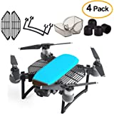 Kuuqa 4 Pcs Protection Accessories Kits for Dji Spark, Including Landing Gear Extender, Gimbal Camera Guard Protector, Silica Gel Motor Guard Protective Cover, Finger Guard Hand Guard Dam-board