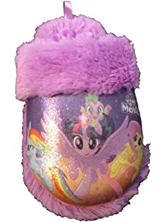 """My Little Pony Girls Pink /""""Pony Pals/"""" Slippers"""