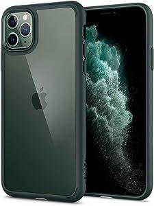 Spigen Ultra Hybrid Designed for Apple iPhone 11 Pro Max Case (2019) - Midnight Green