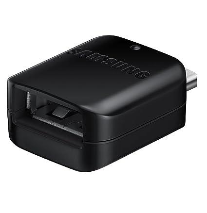 Samsung GH98-41288A - Adaptador OTG USB Tipo A a USB Tipo C Galaxy S8 y S8 Plus y Otros teléfonos Tipo C (sin Paquete al por Menor)
