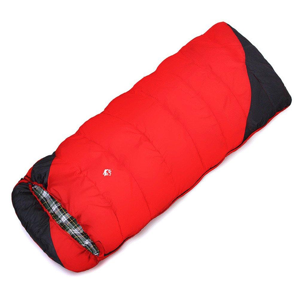 キャンプ封筒寝袋軽量ポータブル防水コンフォートサック - 秋と冬のハイキングを楽しむアウトドアアクティビティ   B07C7VK228
