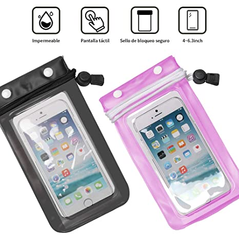 BSK Funda Impermeable Móvil Funda Impermeable iPhoneX ...