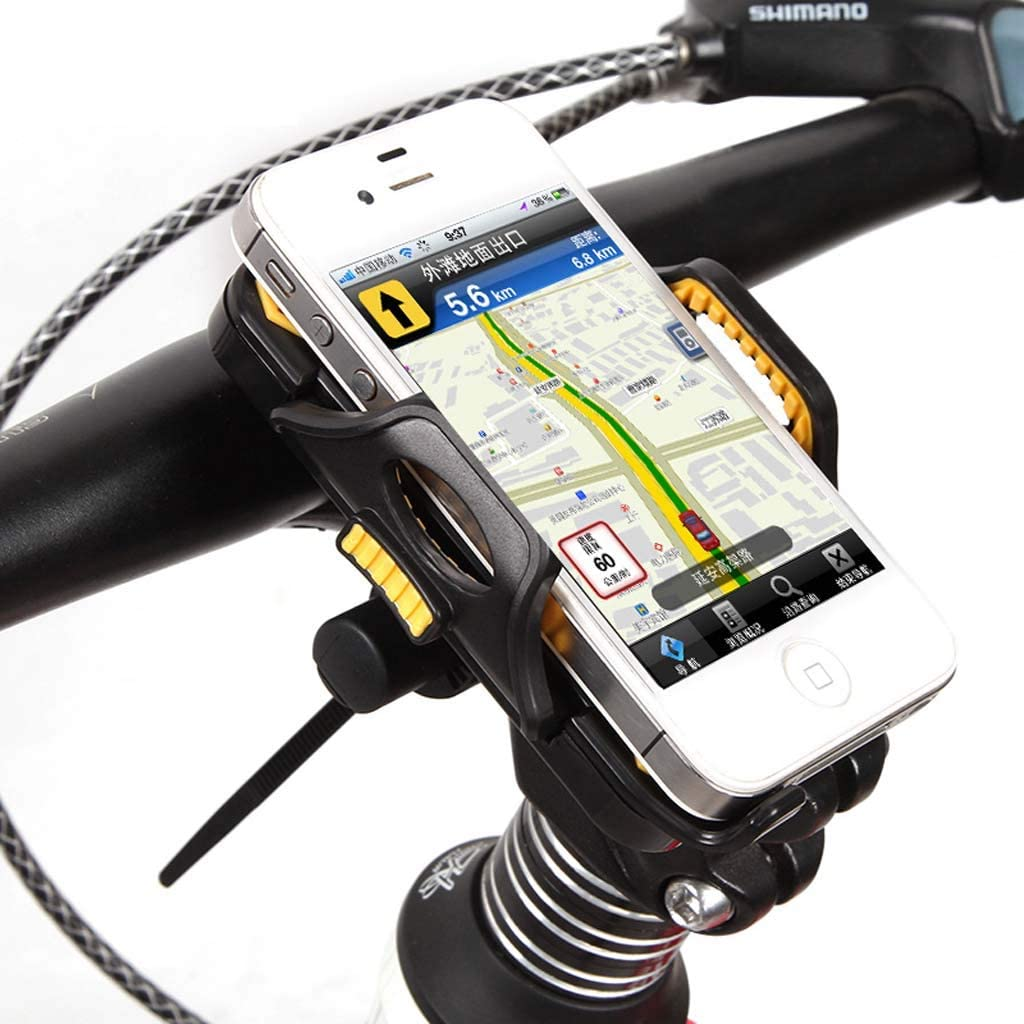 Universal Bicycle Mobile Phone Holder 54mm-84mm Width Non-Slip Bicycle Mobile Phone Holder for Mobile Phones