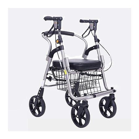 Rollator Walker Vive, Andador De Aluminio Ligero Y Plegable ...