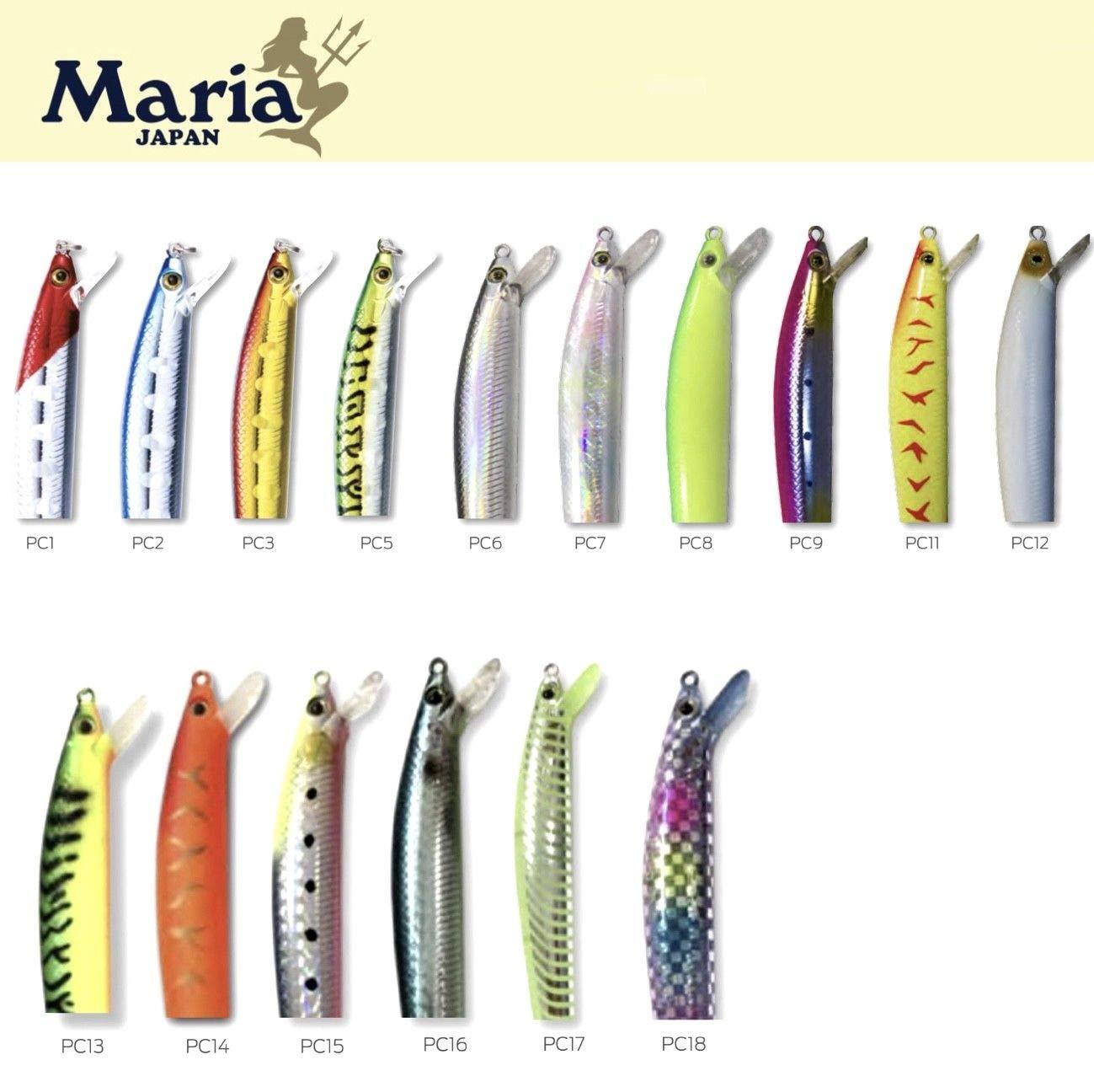 MARIA JAPAN SQUID FISHING SPINNING//TROLLING MINNOW LURE PRINCESS CALAMARI 130