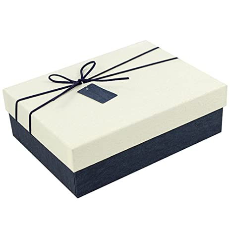 RemeeHi Gran Tema Aviones Caja de Almacenamiento Caja Carton Kraft Caja Regalo Embalaje de Papel Kraft