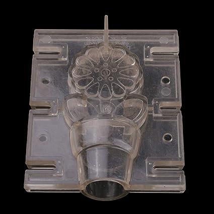 FLAMEER Weinflasche Geformte Kerzen Gie/ßform Kerzengie/ßen Basteln Modell Durchsichtig Zylinder Kerzengie/ßformen Kerzenform Seifenform