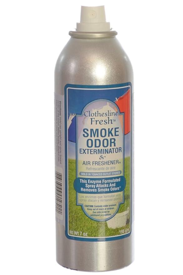 Amazon.com: Smoke Odor Exterminator Removes Cigar/Cigarette/Pipe ...