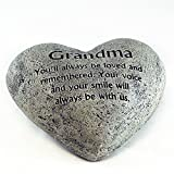Gerson Heart Shaped Memory Stone for Grandma Review