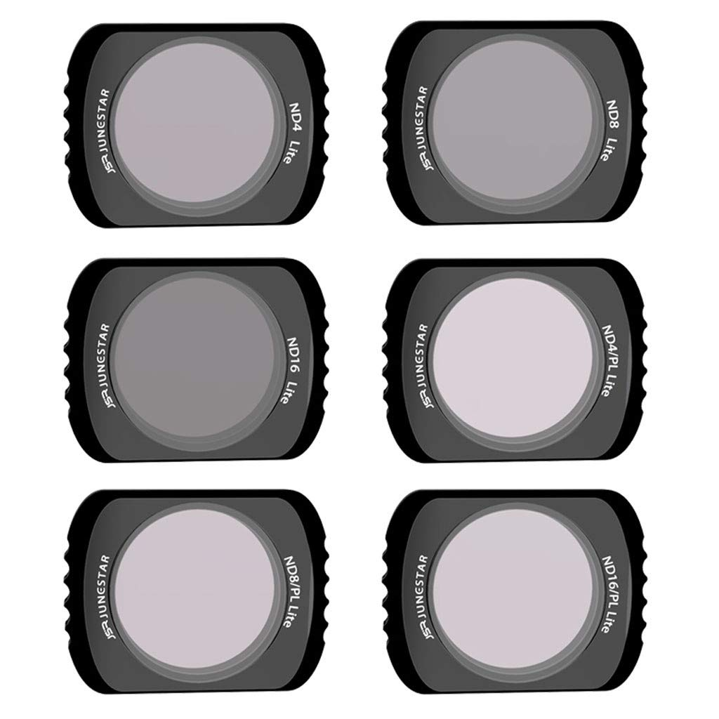 OUBAO Camera Lens Filter Set for DJI OSMO Pocket Portable Waterproof Multi Coated Gimbal CB Wide Angle Camera Lens Filter (6 PC, MCUV/CPL/ND4/ND8/ND16/ND32) by OUBAO (Image #1)