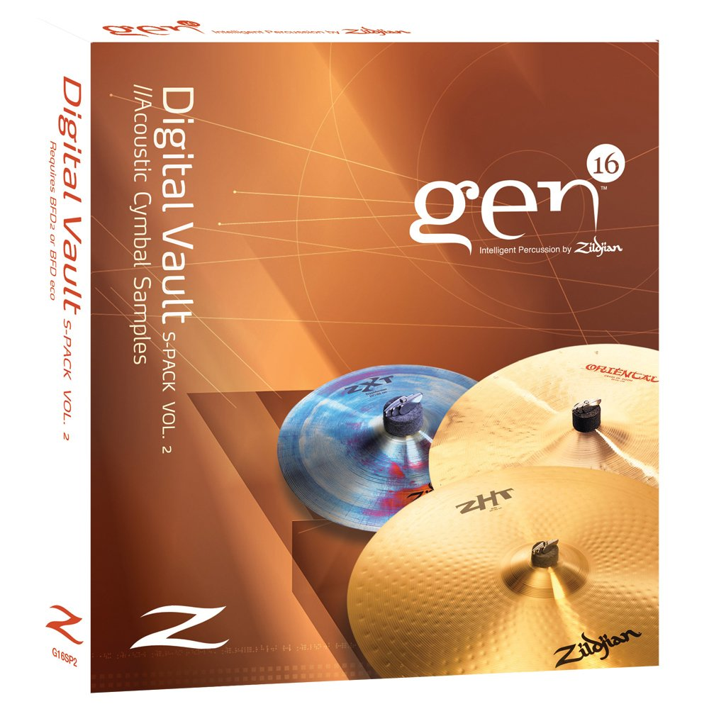 Zildjian Gen 16 Digital Vault S-pack Vol. 2 G16SP2 H68524