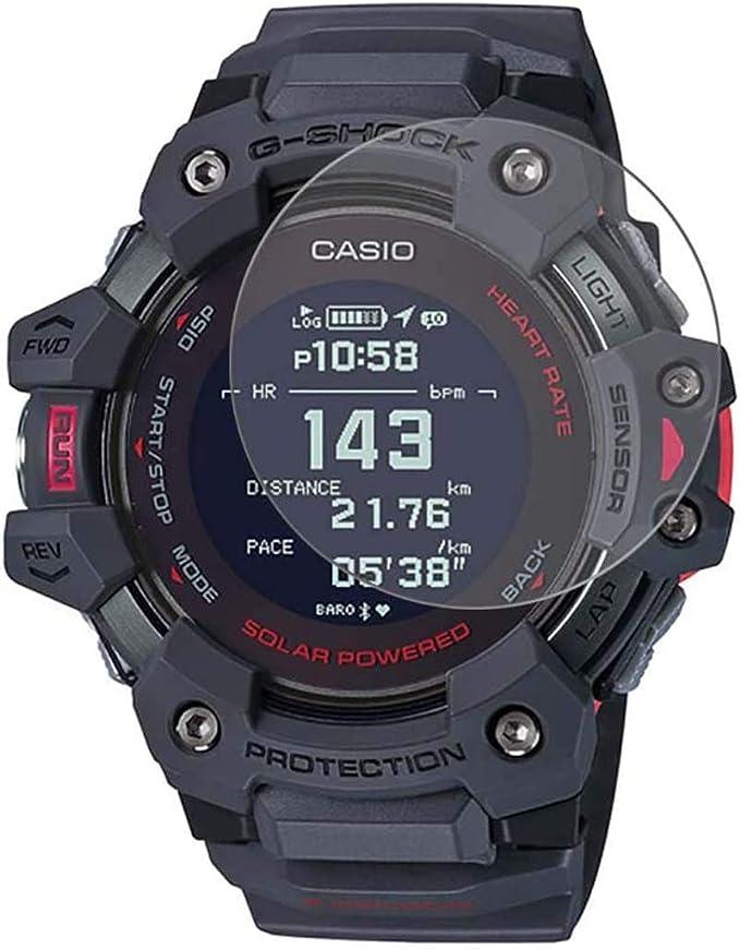 LOKEKE Protector de pantalla de cristal templado premium para reloj Casio G-Shock Move GBD-H1000-8CR para hombre, fabricado en cristal real