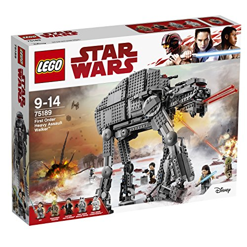 LEGO Star Wars 75189 – First Order Heavy Assault Walker