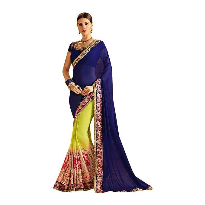 detailed look 63014 2d572 ETHNIC EMPORIUM Matrimonio etnico indiano Seta Saree donna ...
