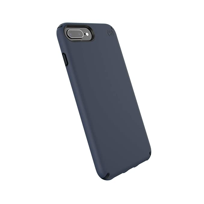 newest 508dc e3f7d Speck Products Presidio Pro Cell Phone Case for iPhone 8 Plus - Eclipse  Blue/Carbon Black