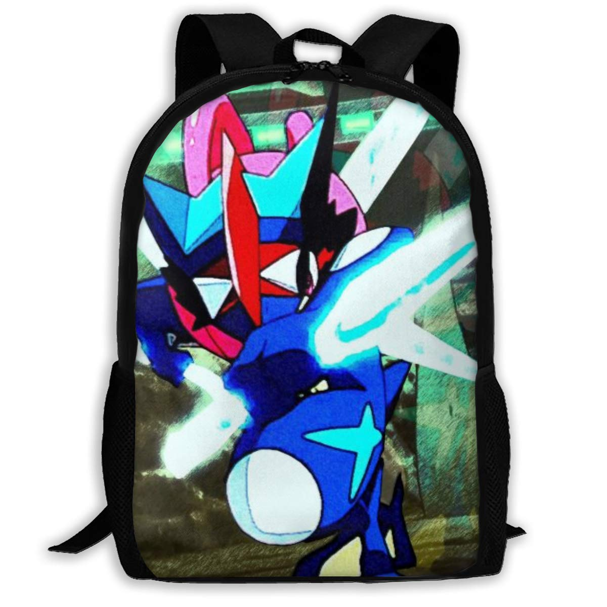 Amazon.com | Childrens School Bag Gre-Ninja Lu-cario ...