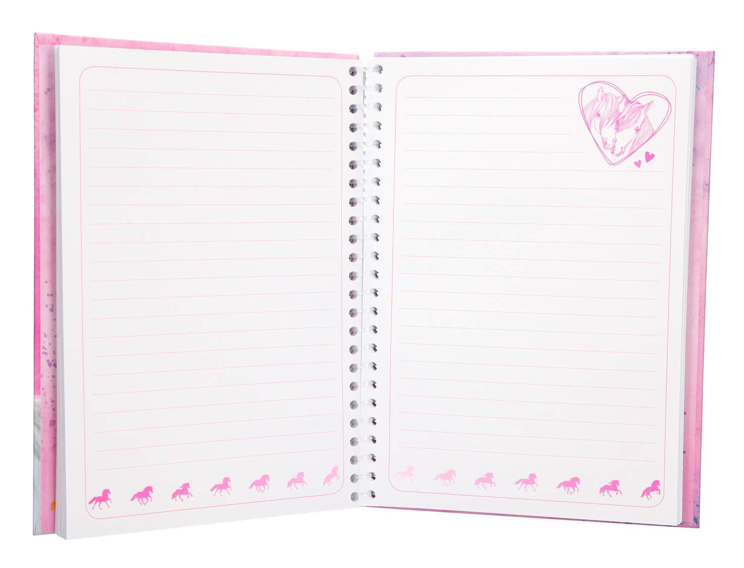 Depesche 8942 Miss Melody Cahier Multicolore