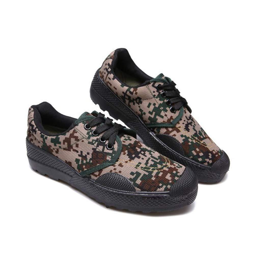 - QIAO Chaussures de libération de l'assurance du Travail pour Hommes et Femmes, Chaussures d'entraînement pour l'entraînement en Plein air Militaire, vêtements antidérapants Absorption des Chocs,A,42