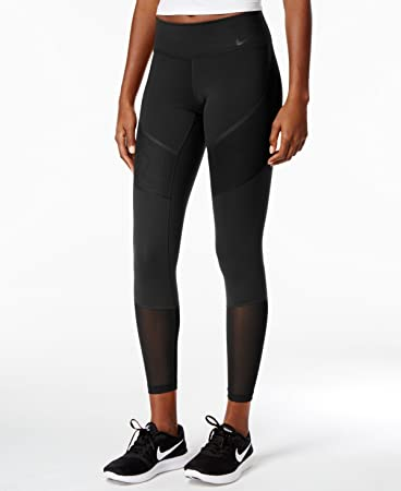 063f047032816 Image Unavailable. Image not available for. Color: NIKE Womens Power  Colorblock Compression Athletic Leggings ...