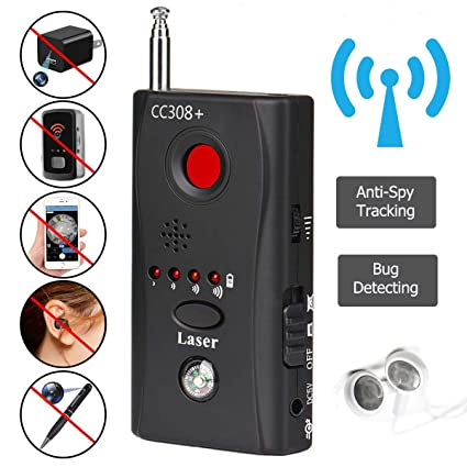 Anti Spy Hidden Camera Lens Bug Detector GSM GPS Signal Finder RF Tracker Finder