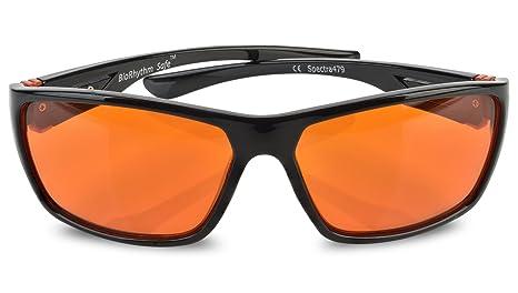 4f718dc314 Fashionable Blue Blocking Amber Glasses for Sleep - Medium to Small Head  size - BioRhythm Safe(TM) - Nighttime Eye Wear ...