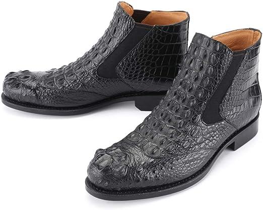 GYPING Botas Chelsea de Ocio para Hombre Zapatos Cuero de Vestir ...