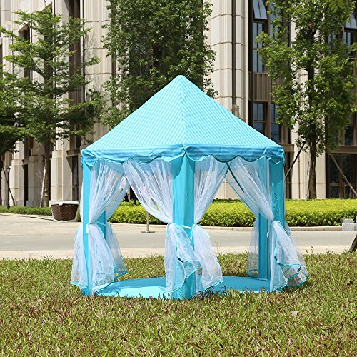 Portable-Princess-Castle-Play-Tent-Activity-Fairy-House-Fun-Indoor-Outdoor-Playhouse-Toy