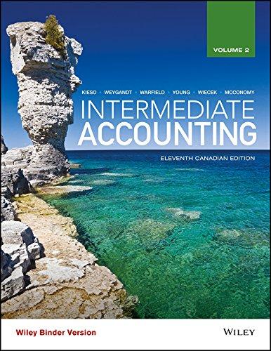 Intermediate Accounting 11ce, Volume 2, Binder Ready Version + WileyPLUS Registration Card