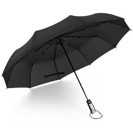 Reinhar Automatic Folding Umbrella Male Parasol Large Paraguas Windproof Black Women Umbrellas rain women parapluie