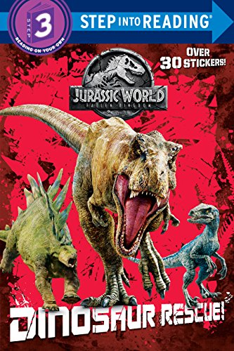Price comparison product image Dinosaur Rescue! (Jurassic World: Fallen Kingdom) (Step into Reading)