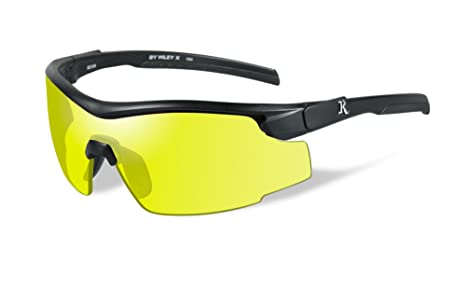 7fb5b805b6e Image Unavailable. Image not available for. Color  Wiley X 1930312 Wily Rem  Mat Black Form Yelp Lens Hunting Safety Glasses ...