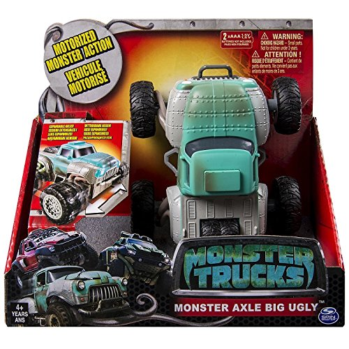 Spin Master Monster Trucks - Monster Axel Big Ugly Vehicl...