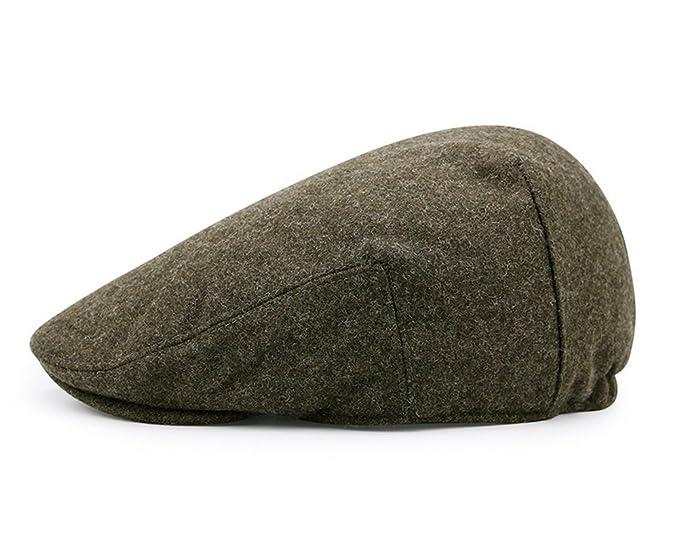 99809a49f49 Unisex Peaked Cap Flat Hat Beret Hat Cabbie Golf Newsboy Cap at ...