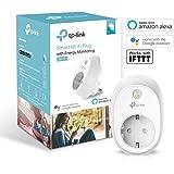 Tp-Link Presa Wi-Fi con Monitoraggio Energia Hs110, Smart Plug Compatibile con Alexa e Google Home, Controllo dei Dispositivi Ovunque Mediante Kasa App