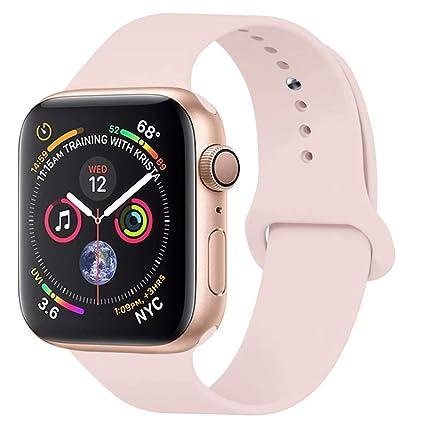 d12ff4baf Amazon.com  YANCH Compatible Apple Watch Band 38mm 42mm 40mm 44mm ...