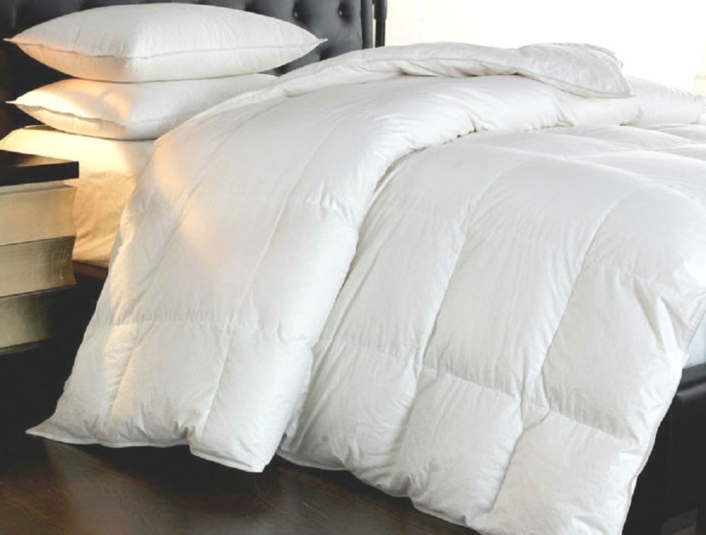Web Linens Inc Down and Feather - 95/5  Year Round - Comforter-King 102 x 86-60 OZ - Exclusively by Blowout Bedding RN #142035