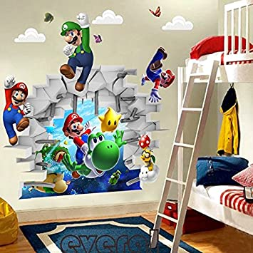 Super Mario Kinderzimmer Und Children\'s Room Design - Theluckystone ...