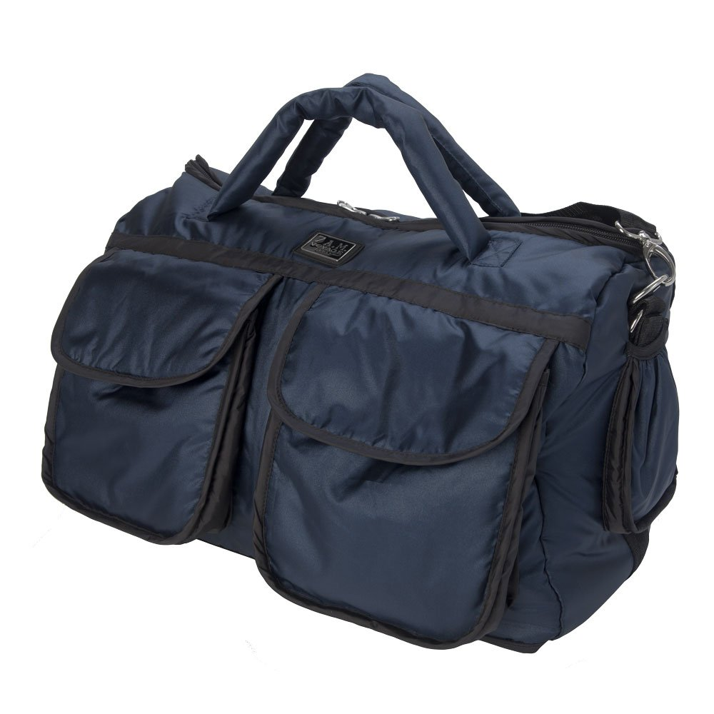 7AM Enfant Voyage Diaper Bag, Metallic Prussian Blue, Large by 7AM Enfant (Image #4)