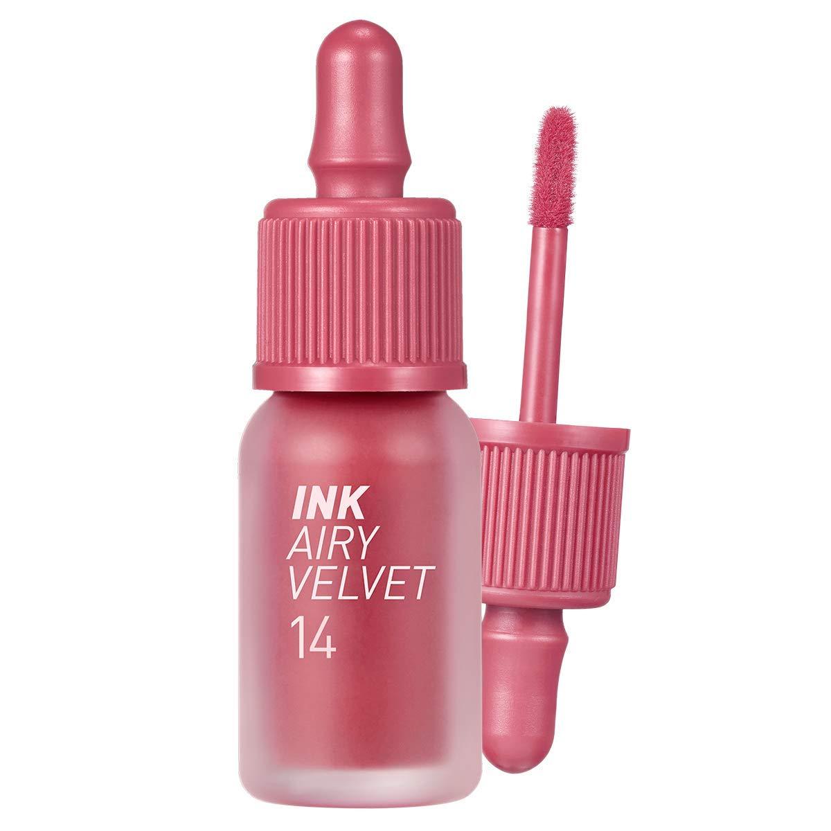 Peripera Ink Airy Velvet (0.14 fl oz, 14 Rosy Pink)