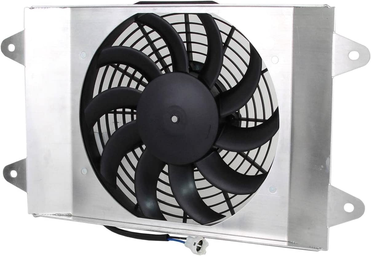 NEW RADIATOR FAN MOTOR COMPATIBLE WITH YAMAHA RHINO 700 YXR700F 08-13 495837 5B4E2405-00-00