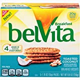 Cheap belVita Toasted Coconut Breakfast Biscuits, 5 Count Box, 8.8 Ounce