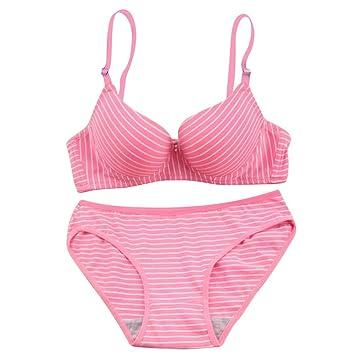 Moresave Juegos de ropa interior para mujeres inalámbricas Hacer subir Sujetador  Bragas Bra Conjunto de ropa d6245c3c58cd